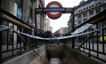 La estacion Monument, en Londres.