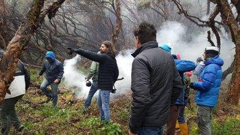El uruguayo Oliver Garland filmó su documental en Chimborazo.