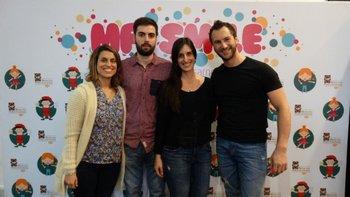 Amorina Baggi, Juan Manuel Parodi, Bethania Morisio y Rodrigo Garmendia <br>