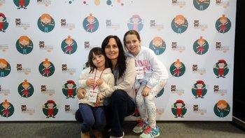Candelaria Ferres, Inés Besada y Manuela Mangino <br>