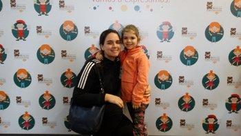 Marina Porcile y Catalina Silva <br>
