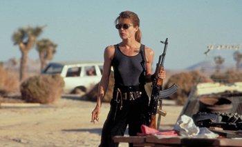 Linda Hamilton en <i>Terminator 2 - Juicio final</i><br>