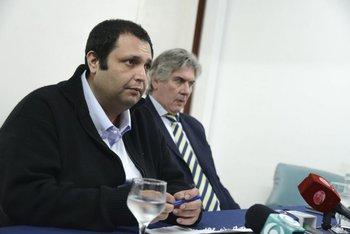 Diputado Wilson Ezquerra con su abogado Enrique Moller