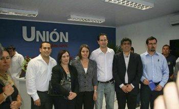 Marcos García (izquierda), Susana Muñiz, Beatriz Silva y Federico Eguren