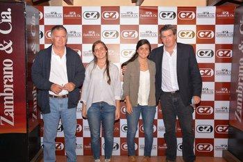 Juan, Sofia, María Emilia y Pedro Bordaberry