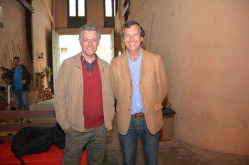 Eduardo Blasina y Carlos Guinovart