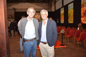 Fernando Bighiero y Raul Mandía