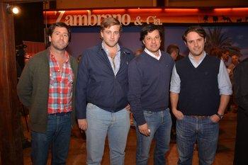 Enrique Bonner, Manuel Yanez, Mauricio Digenova y Manuel Albano