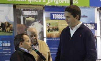 Pablo y Abayubá Valdez con Felipe Bove