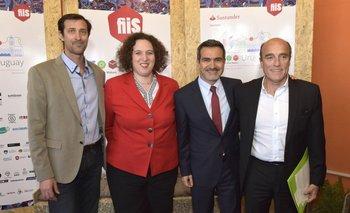 Bebo Gold, Nina Ben Ami, Juan Carlos Chomali y Daniel Martínez
