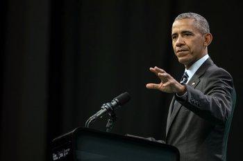 Obama hablando durante el encuentro de economía verde en Córdoba, Argentina, el pasado 6 de octubre.