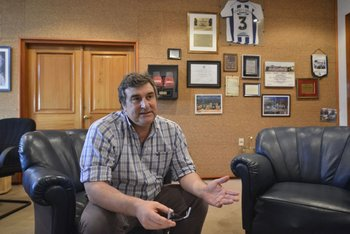 <b>El intendente de Cerro Largo, Sergio Botana</b>