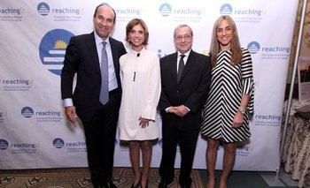 Pablo Haberer, Fernanda Guliak, Carlos Gianelli y Beatriz Ponce de León