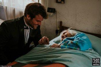 La imagen de Mauricio Gómez premiada por los Fearless Awards