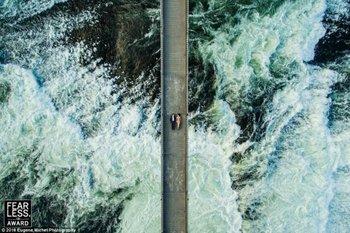 Eugene Michel, estadounidense, es el autor de esta impactante fotografía