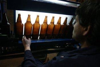Producción en la planta de Envidrio