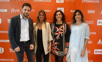 Gustavo Hendlin, Renata Battione, Carina Martínez y Ximena De Arcos