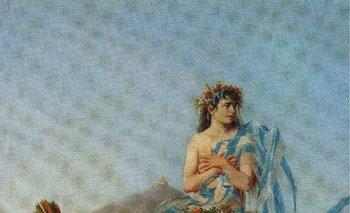 "<div dir=""ltr"">""Resurgimiento de la Patria"", óleo de Juan Manuel Blanes (1898)</div><div><br></div>"