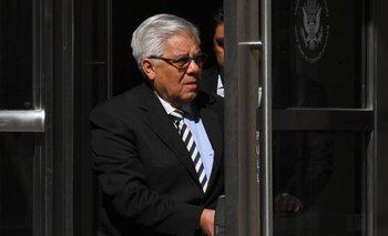 Héctor Trujillo, anterior secretario general de la federación de Fútbol de Guatemala y acusado de aceptar sobornos por derechos de televisación.