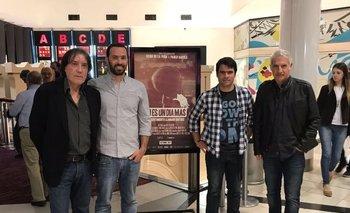 Pepe Rambao, Pablo Rafuls, Diego de la Peña y Gabriel Peluffo