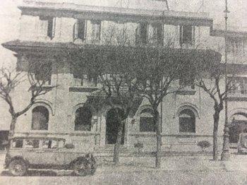 La primera sede de la Asociación Española