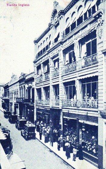 La primera ampliación de Tienda Inglesa, en un edificio de cuatro pisos