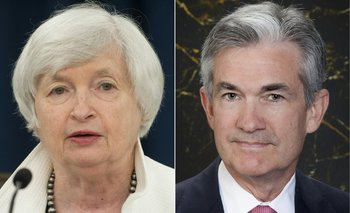 Jerome Powell y Janet Yellen.