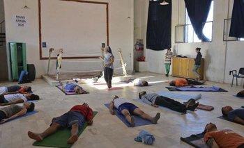 <b>El programa de yoga para presos lleva varios años en Punta de Rieles </b>