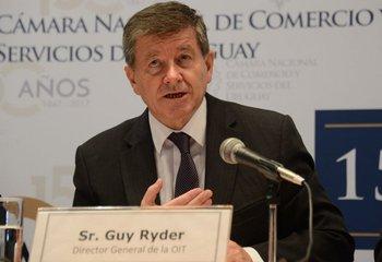 Director general de la OIT, Guy Ryder