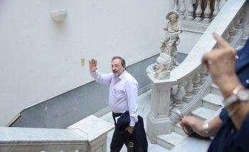 Gandini anunció que Por la Patria tendrá lista al Senado.