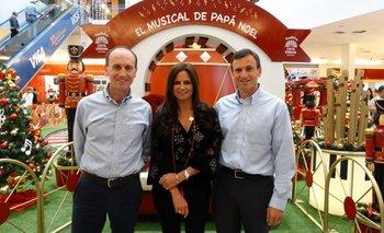 Alberto Gossweiler, Carolina Perrone y Pablo Garbarino <br>
