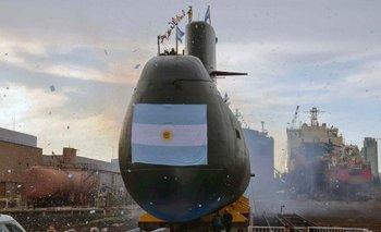 Foto del ARA San Juan difundida por la agencia Telam el pasado 17 de noviembre.