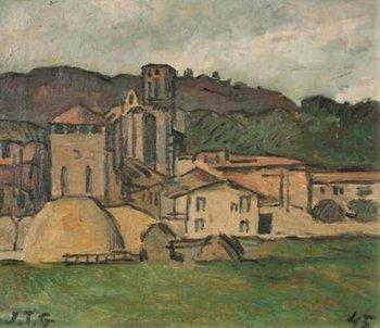 Le Vilage, una obra del pintor Joaquín Torres García