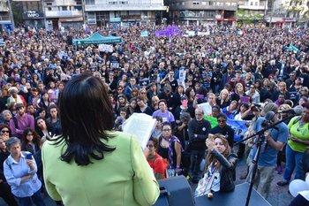 <b>La Coordinadora de Feminismo convocó a una nueva marcha este lunes</b>