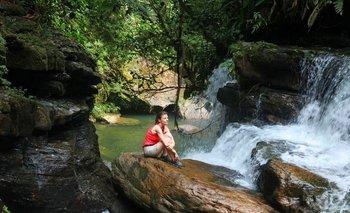 Putumayo, en la región de la Amazonia<br>
