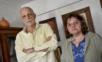 <b>El presidente de la Sociedad de Psiquiatría, Rafael Sibils, y la psiquiatra Giannina Casali. </b>