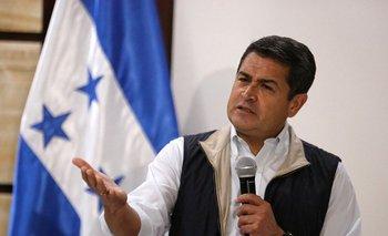 El actual presidente de Honduras, Juan Orlando Hernández