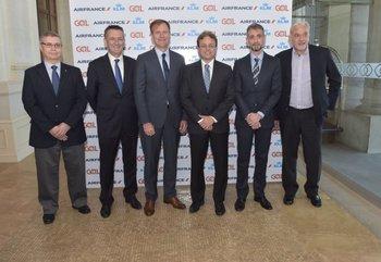 Sergio Berton, Jean Luc Mévellec, Jean Marc Pouchol, Rogerio Guerra, Giancarlo Alcalai y Miguel Vieytes