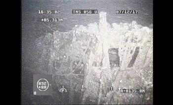 Imágenes difundidas por la Armada Argentina de las profundidades del Atlántico Sur donde se busca el submarino ARA San Juan.<div><br></div>
