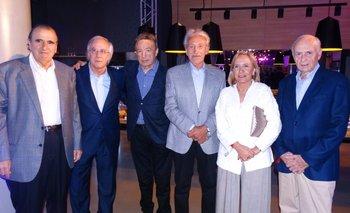 Mario Garbarino, Álvaro de Ferrari, Vito Atijas, Ricardo Weiss, Lucía Camejo y Denis Herrnstadt