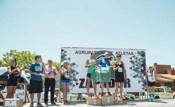Ganadores de la carrera 10KM Zapadores