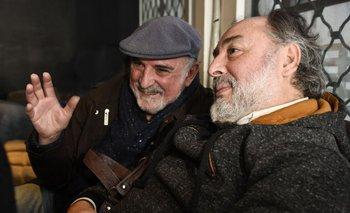Mario Carrero y Eduardo Larbanois son los integrantes del dúo de música popular uruguayo