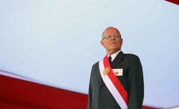Kuczynski en Lima, el año pasado.