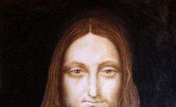 <i>Il Povero Salvator Mundi</i>, obra pintada por el artista Leandro Gómez Guerrero
