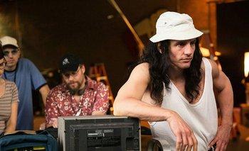 James Franco como Tommy Wiseau en The Disaster Artist: obra maestra.