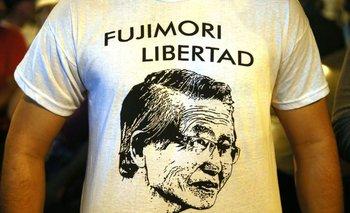 Muchos celebraron la libertad de Fujimori. AFP<br>
