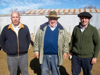 Jorge Andrés Rodríguez, Jorge Rodríguez Britos y Mariano Rodríguez.