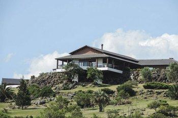 <b>Vista de la casa del sindicalista argentino en Playa Verde</b>