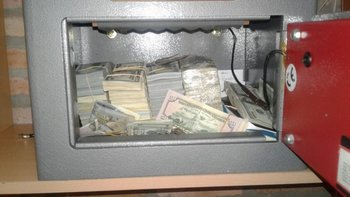 <b>Unos US$ 500 mil tenía Balcedo en su poder</b>