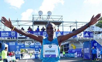 El maratonista keniano Eliud Kipchoge